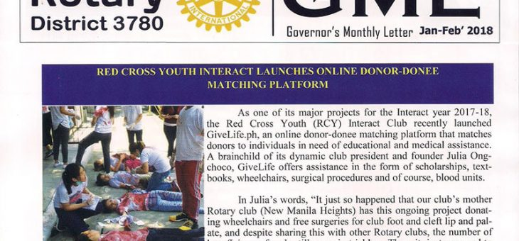 Red Cross Youth Interact Launches Online Donor-Donee Matching Platform