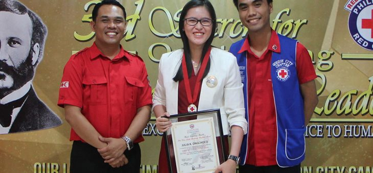 Philippine Red Cross honors Outstanding Youth Humanitarian Leaders