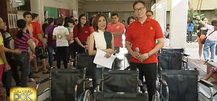 GiveLife facilitates wheelchair donation to Salamat Dok beneficiaries