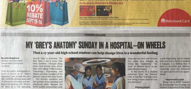 "My ""Grey's Anatomy"" Sunday in a hospital—on wheels"